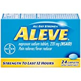 Aleve Caplets, 24 Count