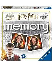 Ravensburger Memory Harry Potter geheugenspel, 72 kaarten, aanbevolen leeftijd 4+ (20648)
