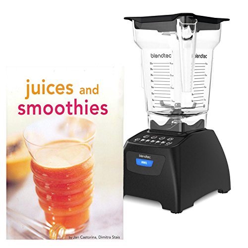 Blendtec Classic 575 Blender with 64 Ounce FourSide Jar and Bonus Tuttle Juices and Smoothies Cookbook For Sale