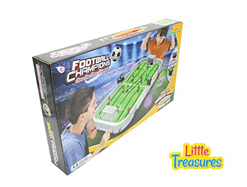 Little Treasures Hockey Champion Ship with digital score board an Educational game for table ice hockey game with hand-controls, realistic court design and music