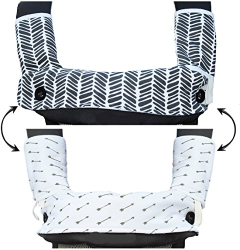 Best Prices! Drool and Teething Pad Reversible Organic Cotton 3-Piece set for Ergobaby Four Position...