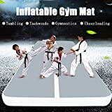Winnerbe 19.7x3.3x0.33inch Inflatable Gym Mat Air Track Tumbling Gymnastics Cheerleading Tae kwon do Pad