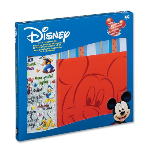 Disney Red Album Mickey 8-by-8 Kit