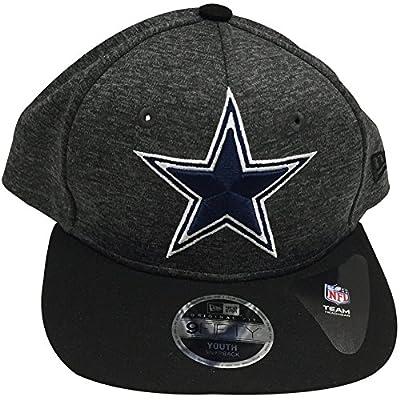 Dallas Cowboys Youth Team Logo Heathered Adjustable Snapback Hat