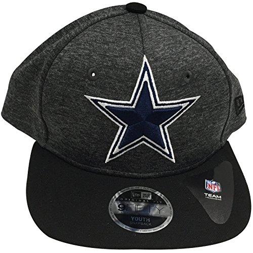 Dallas Cowboys Youth Team Logo Heathered Adjustable Snapback Hat (Side Jersey Football Contrast)