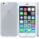 iPhone 6 Plus Protective Case, Gembonics Slim Crystal Clear Flexible TPU Case for iPhone 6 Plus, Full Back and Side Shockproof - Black
