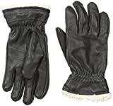 Hestra Women's Deerskin Primaloft Gloves Black 7 & Knit Cap Bundle
