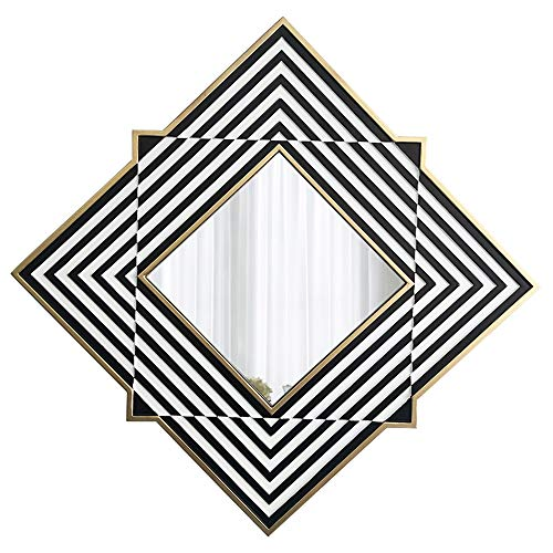 Bathroom mirror JWZQ Mirror ~ Wall-Mounted Living Room Decorative Mirror/Background Wall, Entrance, -