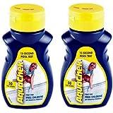 2) AQUACHEK Yellow Swimming Pool Spa Chlorine 4 in 1 Test Strips Aquacheck 50pk
