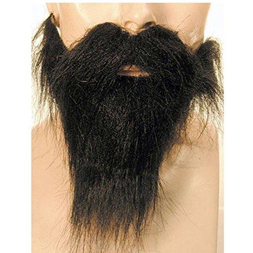 Brown Biker Beard & Mustache (Morris Costumes Beard And Mustache Set)