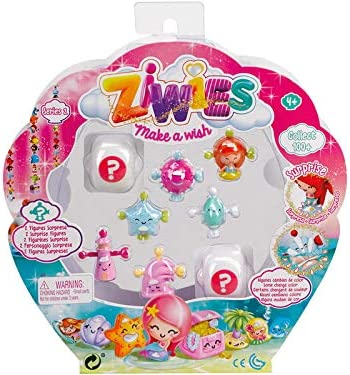 Ziwies Pack 8 Figuras Famosa 700014604: Amazon.es: Juguetes y juegos