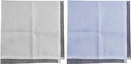Yardwe 2 unids pañuelo de algodón de los Hombres toallitas húmedas ...