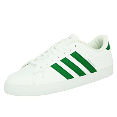 adidas Neo DSET Chaussures Sneakers Mode Homme Blanc Vert T