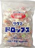 サクマ製菓 袋入りドロップス 1kg