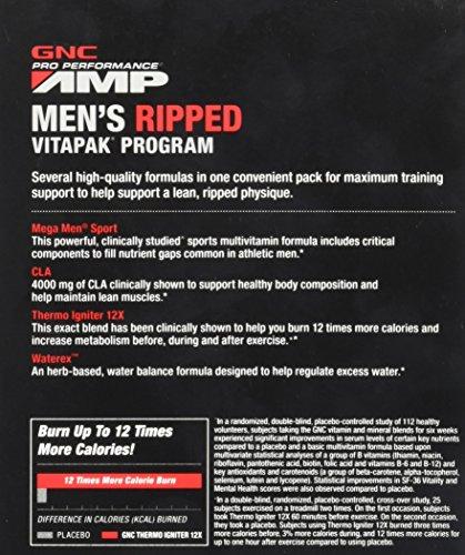 GNC Pro Performance AMP Men's Ripped Vitapak