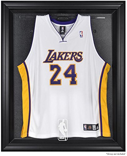 NBA Logo Black Framed Jersey Display Case - Mounted Memories Certified - NBA Jersey Display Cases by Sports Memorabilia