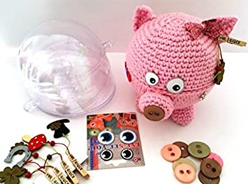 My Boshi Kit Crochet Tirelire Rosi Avec Hobby Monde Créative