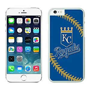 Kansas Royals iPhone 6 Plus 5.5 Case 1 White