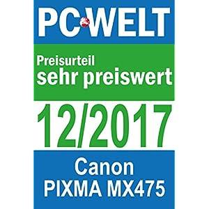 Canon Pixma MX475 - Impresora de Tinta (4800 x 1200 dpi, USB ...
