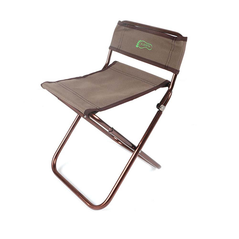 AODEW Folding Portable Chair Camping Coffee Stool for Fishing Hiking Gardening and Beach