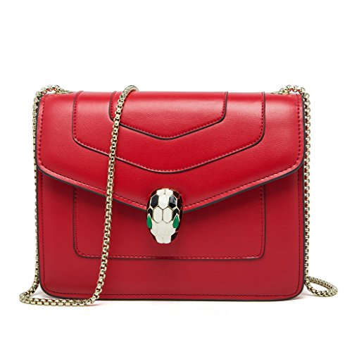 DHL Crossbody Bag Leather Genuine Handbags Women By Cover Red Colors Messenger FairyBridal 4 qPxYYa