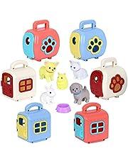 Cute Pet Surprise! Mini Pet house Surprise with Surprise Pets, Little Puppy Play Set, Age 3+