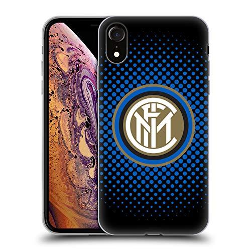 - Official Inter Milan Blue Halftone 2018/19 Crest Soft Gel Case for iPhone XR