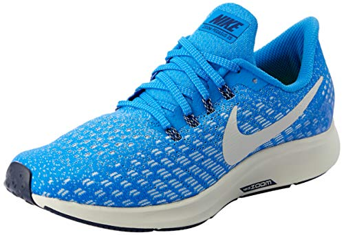 Nike Men's Air Zoom Pegasus 35 Running Shoe (10 D(M) US, Cobalt Blaze/Light Bone/Sail/Blue Void)