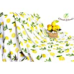 Bambi-Bamboo-Muslin-Swaddle-Receiving-Blankets-Strawberry-Lemon-Extra-Large-Unisex-Breathable-Ultra-Soft-Baby-Shower-Gift-Registry-Essentials