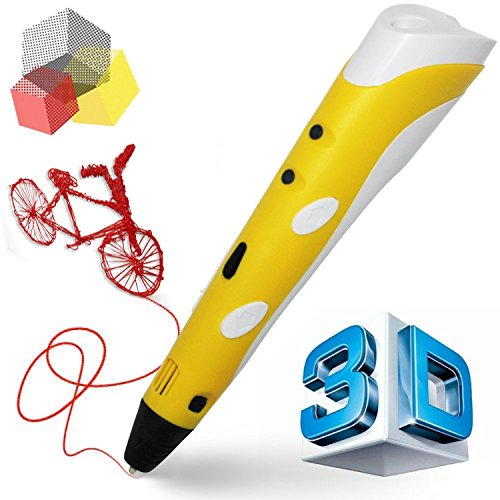 Ouguan Sending Gift Intelligent 3D Printing Pen, 3D Drawing Model Making Doodle Arts & Crafts Drawing, Stimulate childrens' creativity, improve spatial thinking ability. by Ouguan (Image #3)