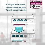 TP-Link 5 Port Gigabit PoE Switch | 4 Port PoE