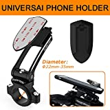 Cheap MAXROCK Universal Cycling Handlebar Mount for Motorcycle,Mountain & Road Bicycle Phone Mount for Cellphone, Gps, Radio Holders… 3m Tape, Stem Cap and Handlebar (22-33mm) Two Ways Mount Solutions
