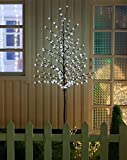 Image of WED 6ft 208led Lighted Cherry Blossom Tree, White Light for Home Garden/Summer/Wedding/Birthday/Christmas/Holiday/Party Decoration