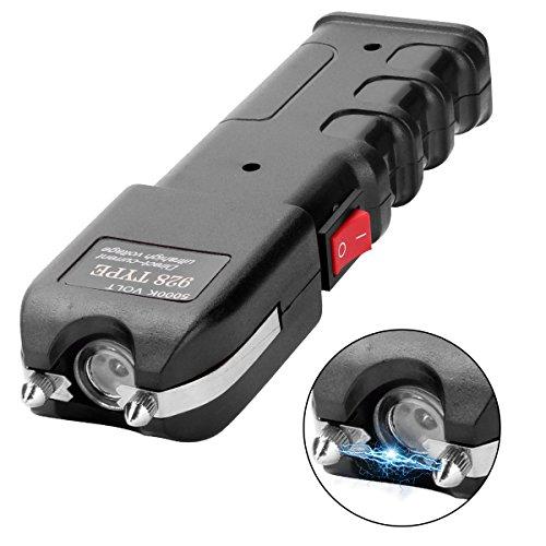 Dominik Kedzior Stun Gun Taser Flashlight Stun Gun for Women,Taser Stun Gun with Lights Rechargeable - Used in Self Defense (Running Gun)
