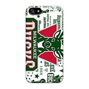 Hot Style LgK12217rdJy Protective Cases Covers For Ipod Touch 5(milwaukee Bucks)