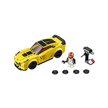 Amazon.com: LEGO Speed Champions Chevrolet Corvette Z06 (75870 ...