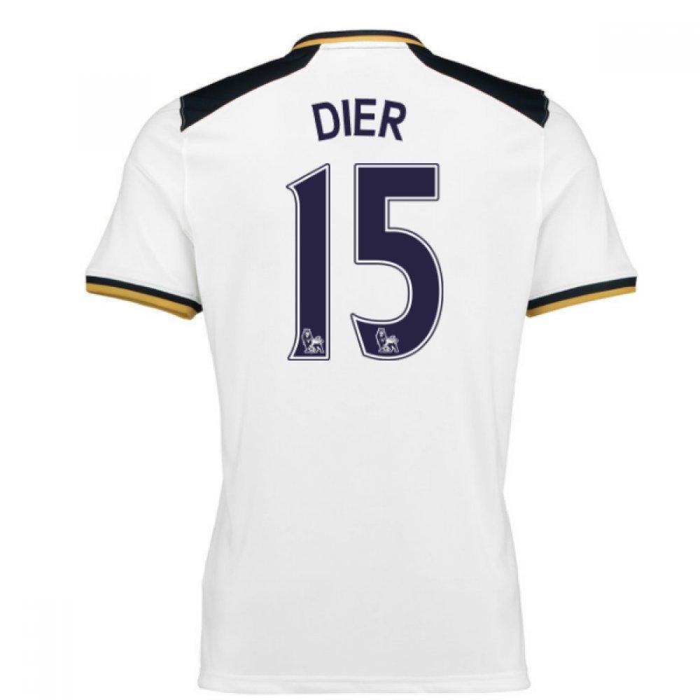 2016-17 Tottenham Home Football Soccer T-Shirt Trikot (Eric Dier 15)
