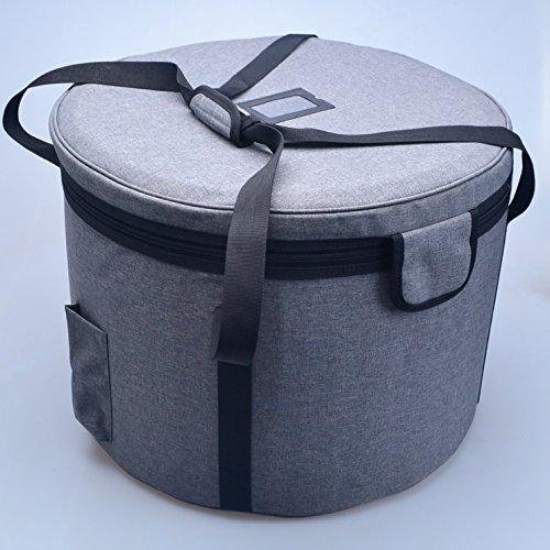 Crystal Singing Bowl Carry Case Travelling Bag For Size 8