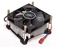Logisys Corp. IC211HTPC Low Profile Intel CPU Cooler - Black/Silver