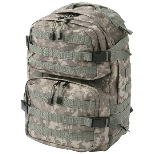 Extreme Pak Digital Camo Water-Repellent Backpack by ExtremePak
