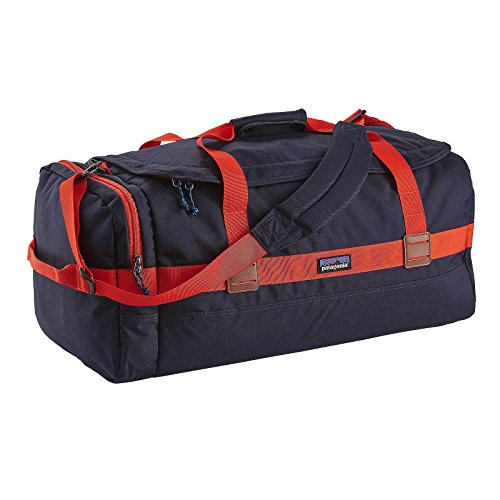 Patagonia Arbor Duffle 60L Navy Blue w/Paintbrush Red by Patagonia