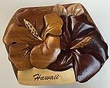 Wooden Puzzle Jewelry Box Hibiscus Hawaiian Design