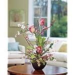 Petals-Cherry-Blossom-Dogwood-Tulip-Silk-Flower-Arrangement