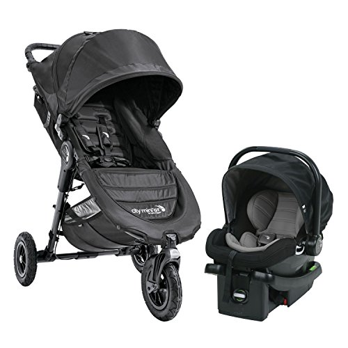 Baby Jogger City Mini GT Travel System in Black