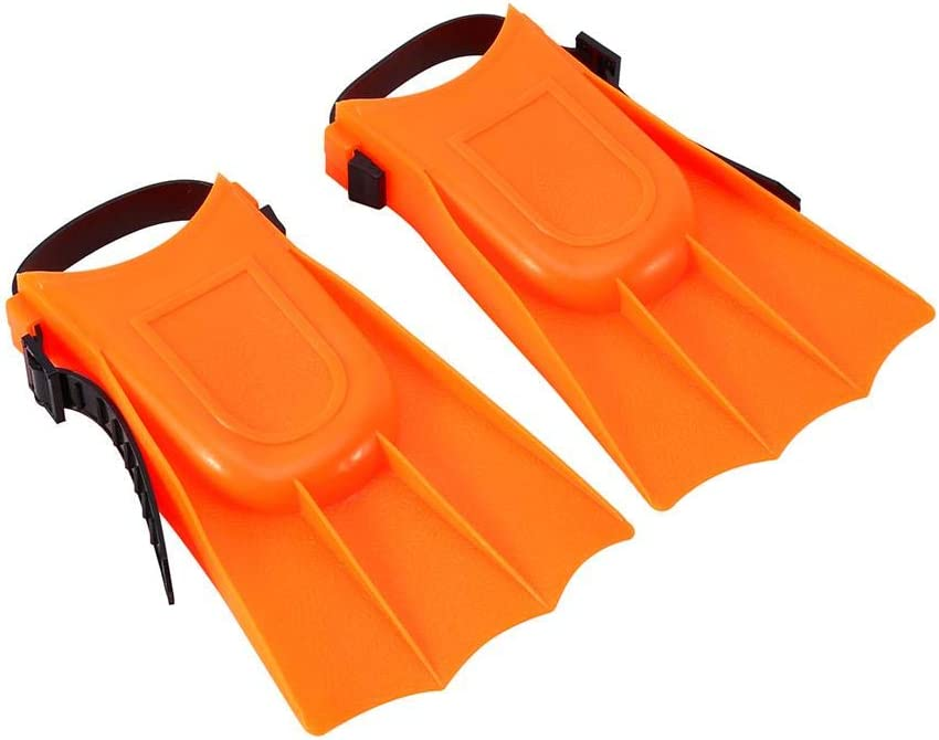 Palmes de plong/ée sous-Marine pour Enfants Tuba et Palmes de plong/ée pour Enfants avec Masque pour Lunettes Ensemble de Monopalme en Silicone MAGT Combinaison de plong/ée