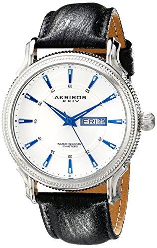 Akribos XXIV Women's AK721YG Ultimate Multifunction Gold-Tone Twist Chain Bracelet Watch