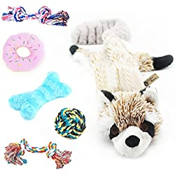 Critter Mamas Puppy Toy and Rope Set (6 pack)