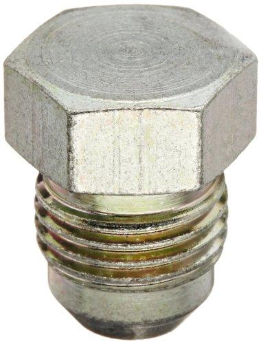 Eaton Aeroquip 900599-6S Plug, Female 37 Degree JIC Fitting, JIC 37 Degree End Types, Carbon Steel, 3/8 JIC(m) End Size, 3/8