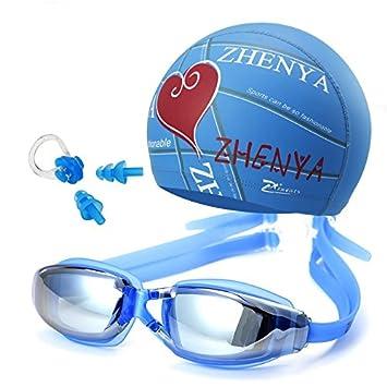 NAUY- Conjunto de casquillo de la natación profesional a ...