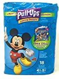 Pull-Ups Learning Designs Potty Training Pants for Boys, 4T-5T (38-50 lb.), 18 Ct.
